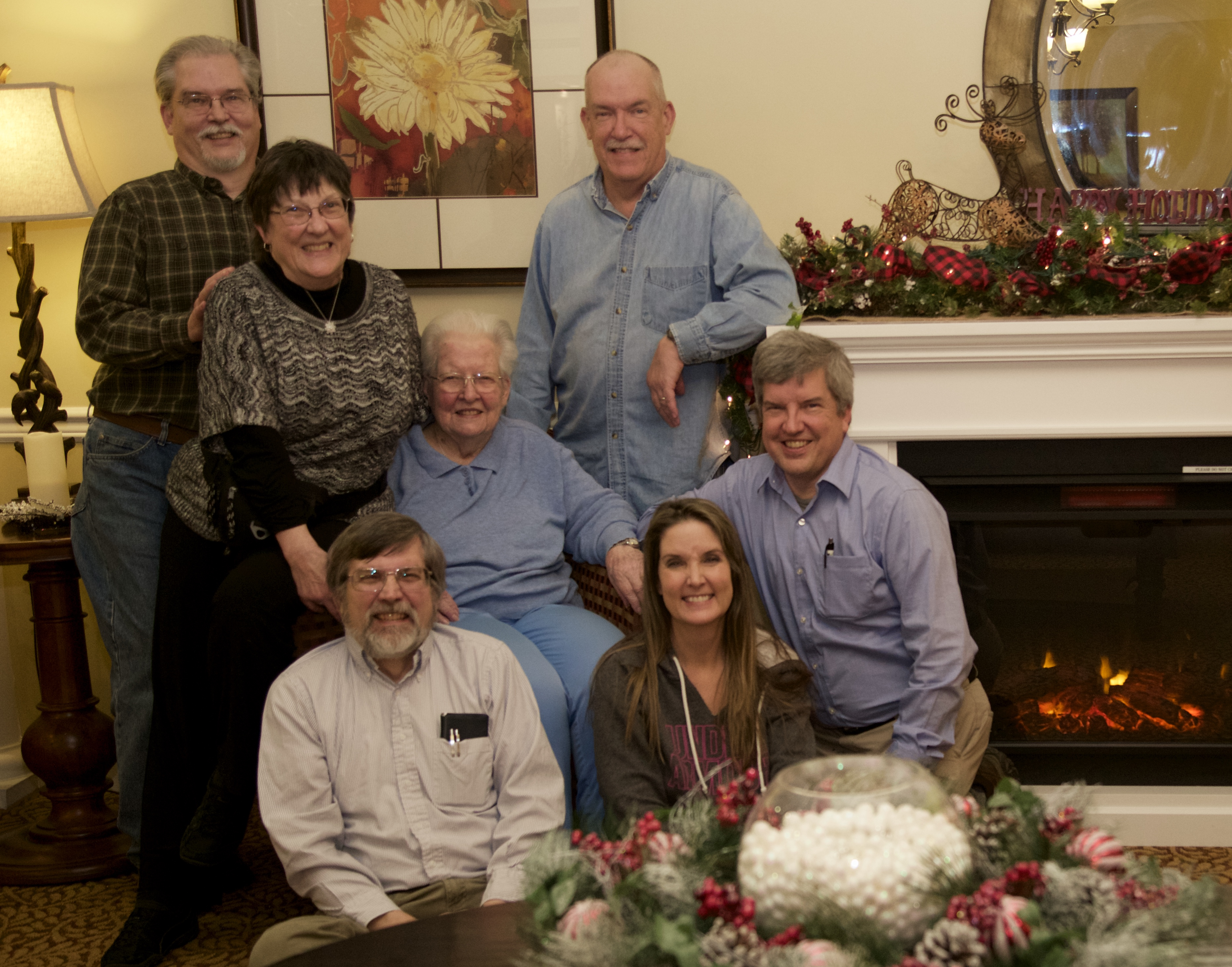 Complete Rodgers Clan, Dec. 2018